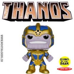 Funko Pop! 15 cm Guardians Of The Galaxy Thanos Phosphorescent Edition Limitée