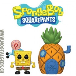 Funko Pop Spongebob Squarepants with Gary & Pineapple House