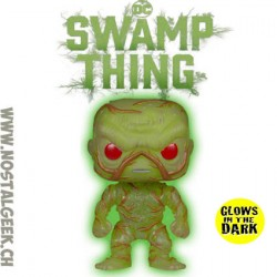 Funko Pop! DC Super Heroes Swamp Thing Phosphorescent Edition limitée