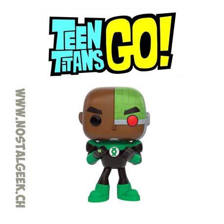 Funko Pop DC Teen Titans Go Cyborg As Green Lantern Limited Edition