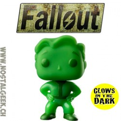 Funko Pop Games Fallout Vault Boy GITD Exclusive Vinyl Figure