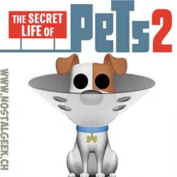 Funko Pop Movies Secret Life Of Pets Max Flocked Limited Edition