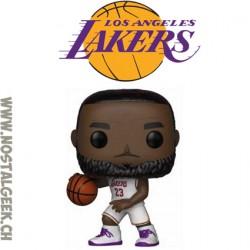 Funko Pop Basketball NBA LeBron James (Lakers) (White Jersey) Vinyl Figure