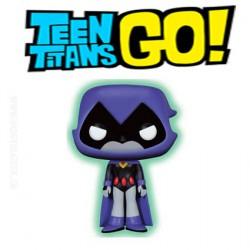 Funko Pop! DC Teen Titans Go Raven Phosphorescent Edition Limitée