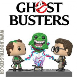 Funko Pop! Town Ghostbusters Dr. Peter Venkman with Firehouse Vinyl Figure