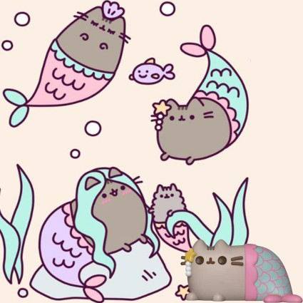 d03f5abbc50 Toy Funko Pop Pusheen The Cat Pusheen Mermaid Vinyl Figure geek sui...