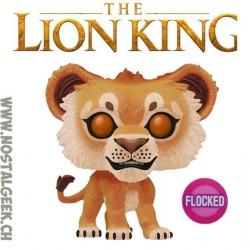 Funko Pop! Disney The Lion King Simba Leaf Mane Flocked Vinyl Figure