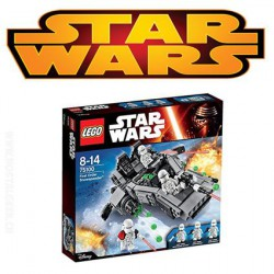 LEGO - 75100 - Star Wars - Jeu de Construction - First Order Snow speeder Disney