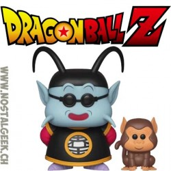 Funko Pop Dragon Ball Z King Kai and Bubbles Vinyl Figure