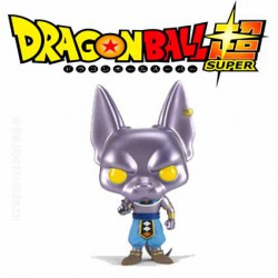 Funko Pop SDCC 2016 Dragon Ball Z Super Metallic Beerus Limited Edition