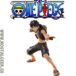 One Piece Monkey D Luffy Film Gold Sh Figuarts Zero 14 cm