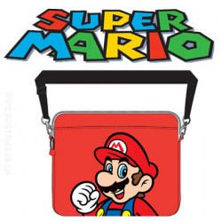Nintendo - Super Mario Shoulder Bag (Red)