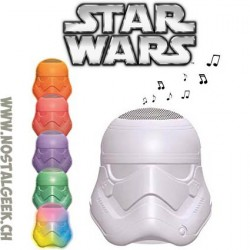 Star Wars Enceinte Bluetooth Lumineuse Stormtrooper