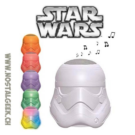 Star Wars Stormtrooper Bluetooth Light Speaker