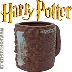 Harry Potter Diagonal Alley 3D Mug