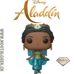 Funko Pop Disney Aladdin Princess Jasmine (Live Action) (Diamond Collection) Edition Limitée