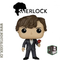 Funko Pop Sherlock Holmes (With Skull) Exclusive Vaulted Vinyl Figure