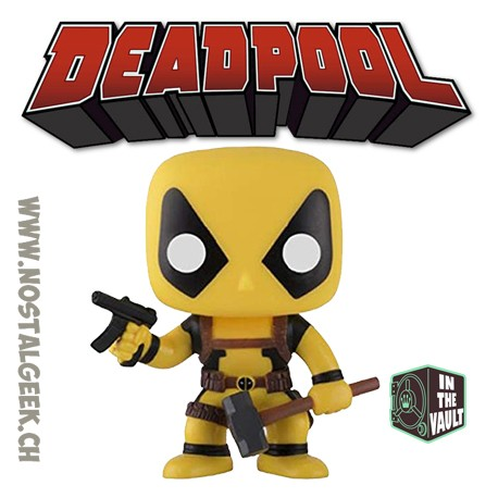 Funko Pop Marvel Deadpool Rainbow Squad Foolkiller Exclusive Vaulted Vinyl Figure