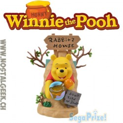 Disney Winnie The Pooh Limited Premium Figure Rabbit House 19 cm