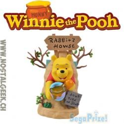 Disney Winnie The Pooh Limited Premium Figure Rabbit House 19 cm Sega