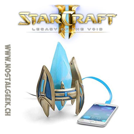 Starcraft II Protoss Pylon Desktop Power Station