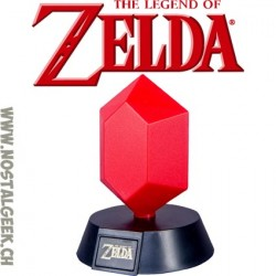 The Legend Of Zelda - Lampe 3D Rupee Vert 10cm