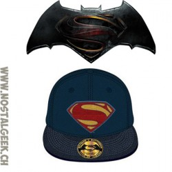 Batman v Superman Dawn of Justice Adjustable Cap Superman Logo