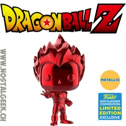 Funko Pop Animation NYCC 2018 Dragon Ball Super Saiyan Vegeta (Blue Chrome) Edition Limitée
