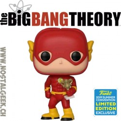 Funko Television SDCC 2019 The Big Bang Theory Sheldon Cooper as Flash Edition Limitée