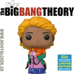 Funko Television SDCC 2019 The Big Bang Theory Raj Koothrappali as Aquaman Exclusive Vinyl Figure