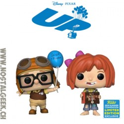 Funko Disney SDCC 2019 Up Carl & Ellie (2-Pack) Exclusive Vinyl Figure