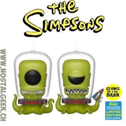 Funko SDCC 2019 The Simpsons Kang and Kodos Phosphorescent (2-Pack)Edition Limitée