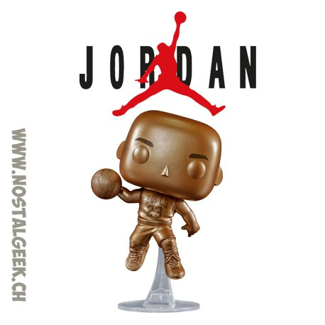 Funko Pop Basketball NBA Michael Jordan (Black Alternate Jersey) Exclusive Vinyl Figure