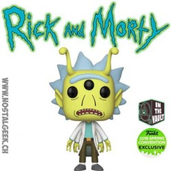 Funko Pop ECC 2018 Rick et Morty - Alien Rick Exclusive Vinyl Figure