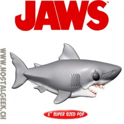 Funko Pop 15 cm Movies Jaws Great White Shark Oversized
