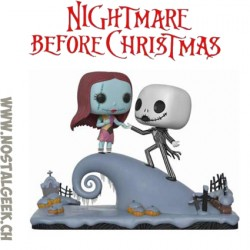Funko Pop Movie Moment Disney Nightmare Before Christmas Jack And Sally Under The Moonlight Vinyl Figure