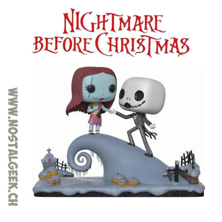 Funko Pop Movie Moment Disney Nightmare Before Christmas Jack And Sally Under The Moonlight Vinyl Figure