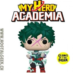 Funko Pop! Anime My Hero Academia Deku (Full Cowl) Phosphorescent Edition LimitéeVinyl Figure