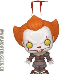 Funko Pop! Movie IT Pennywise (Gripsou) with Beaver Hat Exclusive Vinyl Figure