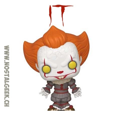 Funko Pop! Movie IT Chapter 2 Pennywise (Gripsou) with Beaver Hat Edition Limitée