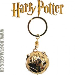 Harry Potter 3D Keyring Golden Snitch