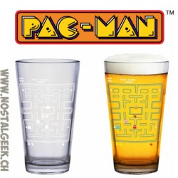 Pac Man Colour Change Glass 400ml