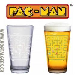 Pac Man Colour Change Glass 400ml