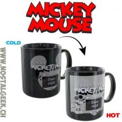 Disney Mickey Mouse Tasse Thermosensible