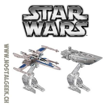 Hot Wheels Star Wars Star Destroyer vs. Mon Calamari Cruiser 2-Pack