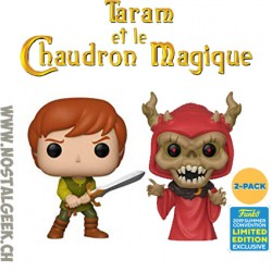 Funko Disney SDCC 2019 The Black Cauldron - Taran & Horned King (2-Pack) Exclusive Vinyl Figure