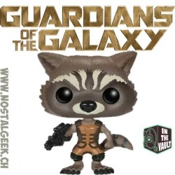 Funko Pop Marvel Guardians of The Galaxy Rocket Raccoon Vaulted Vinyl Figure