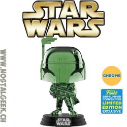 Funko Pop SDCC 2019 Star Wars Yoda (Green Chrome) Edition Limitée