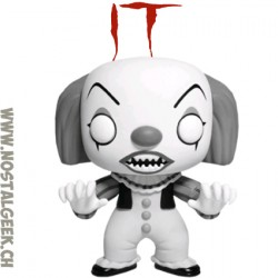 Funko Pop! Film IT Pennywise (Black & White) Exclusive Vinyl Figure