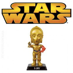 Star Wars Episode VII - Le Réveil de la Force C-3PO Wacky Wobbler